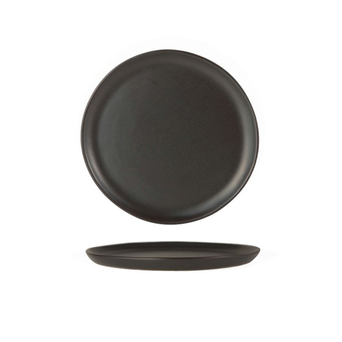 black squiggly-shaped Flat Plate 18